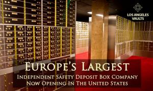 Safety Deposit Boxes Los Angeles