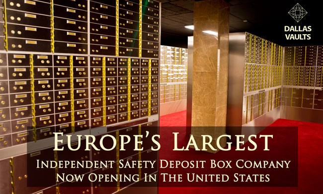 SAFETY DEPOSIT BOX FACILITY DALLAS VAULTS